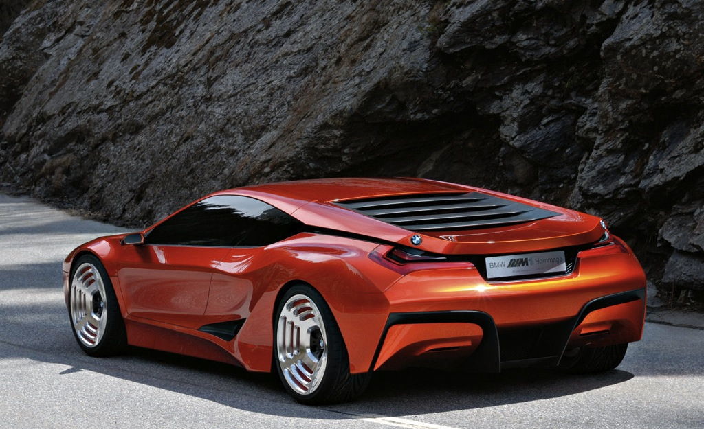 BMW M1 Hommage Concept Rear 7/8 View
