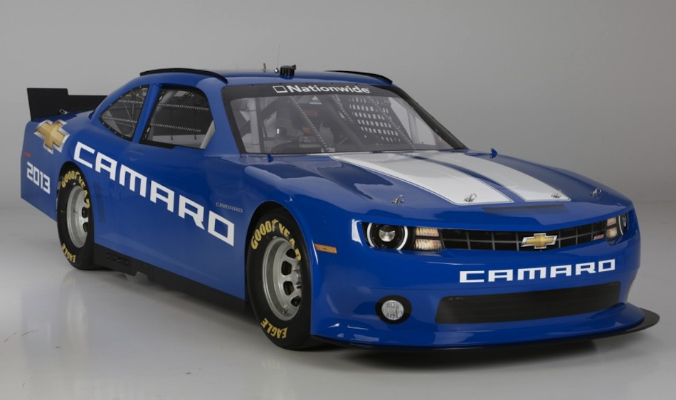 2013 Camaro NASCAR Nationwide Race Car Front 3/4 Angle