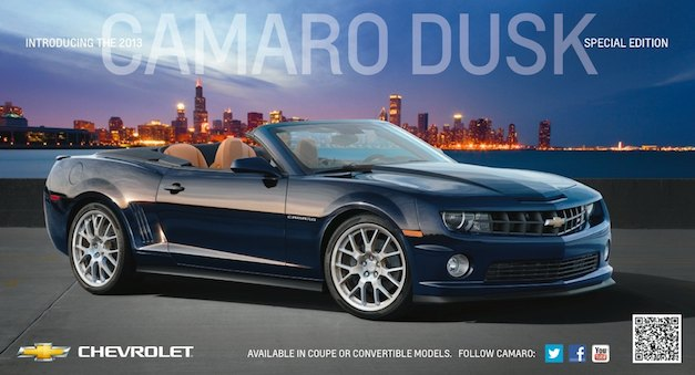 chevroletcamaroduskedition Chevrolet Camaro gets Dusk Special Edition Package for 2013