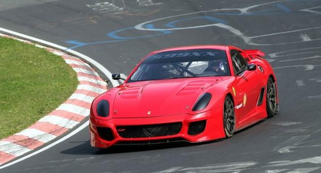 Ferrari 599XX Nurburgring