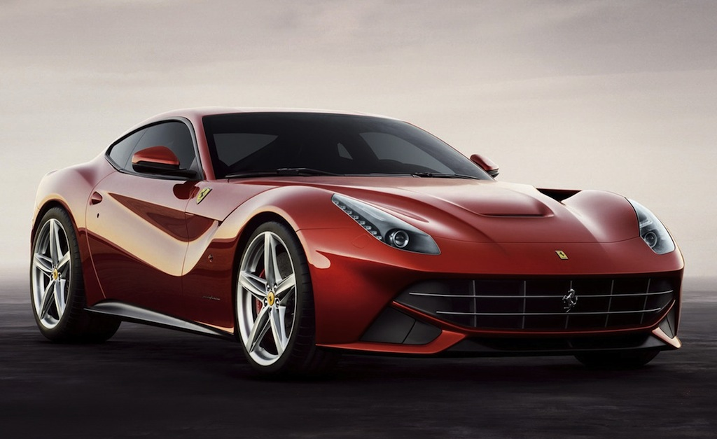 2013 Ferrari F12 Berlinetta New Front 3/4 Angle View