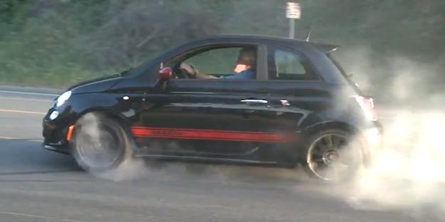 Jay Leno Fiat 500 Abarth