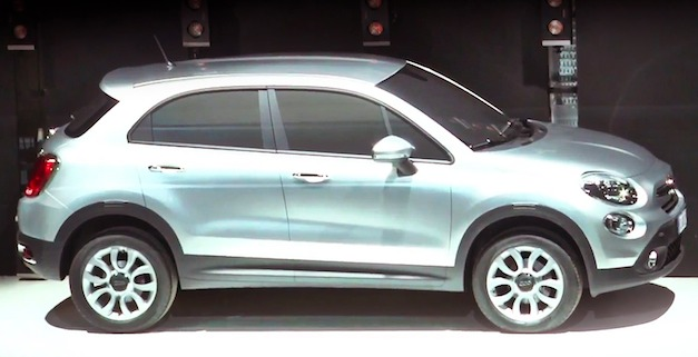 fiat500x Fiat teases the 500X small crossover, will spawn compact Jeep SUV