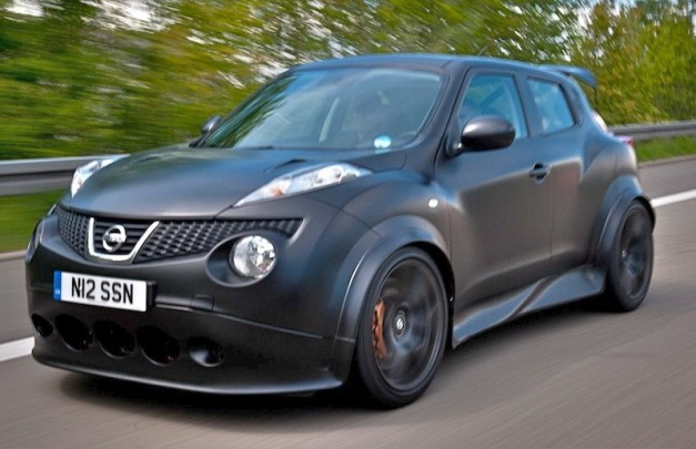 First Drive: Nissan Juke-R is straight out of hell