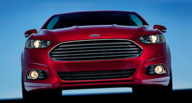 Ford Fusion Front