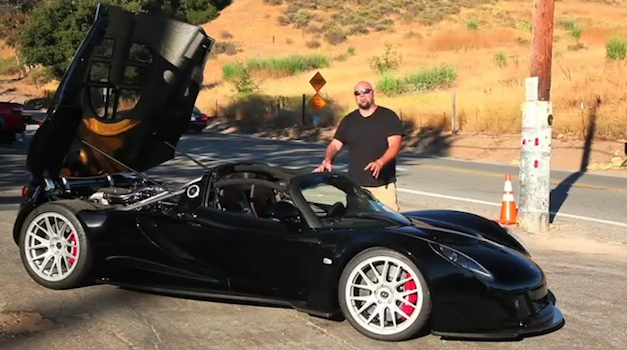 hennesseyvenomgtdrive Video: DRIVEs Matt Farah takes the Hennessey Venom GT for a spin