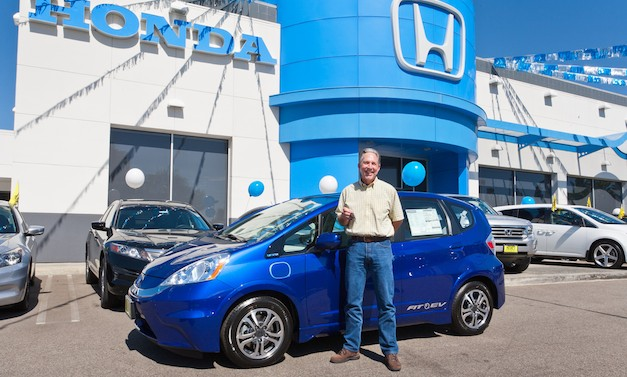 First 2013 Honda Fit EV delivered to Southern California customer