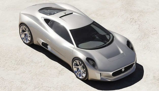 jaguarcx75topview Report: Jaguar C X75′s 1.6 liter to have a turbo and supercharger
