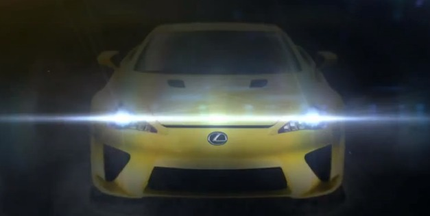 Lexus Unleash the LFA Teaser