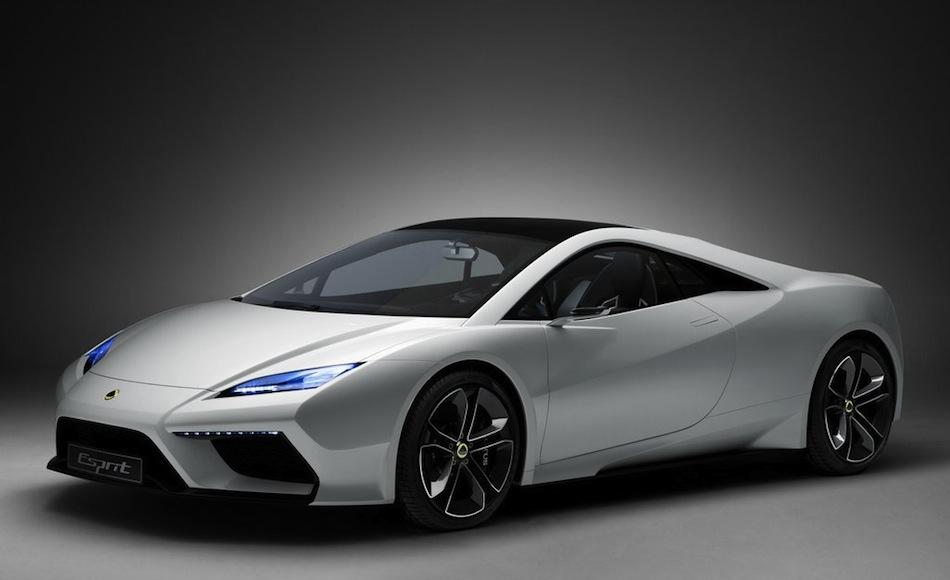 Lotus Esprit Concept Front 7/8 Angle