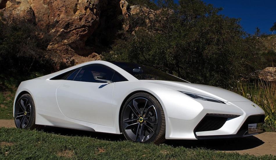 Lotus Esprit Concept Front 7/8 View