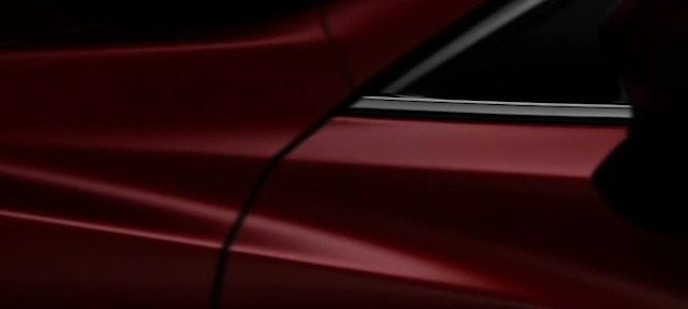 mazda6sideteaser Video: Second Mazda6 teaser released, doesn't really show much
