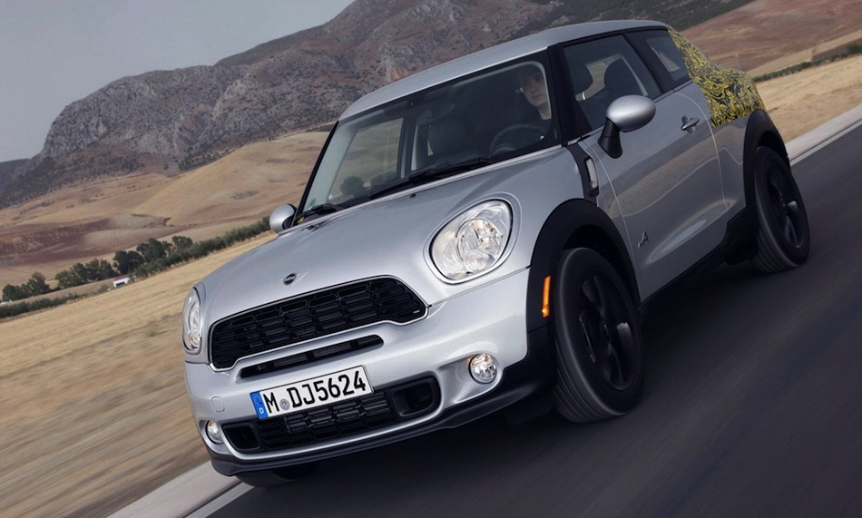 Mini Paceman Prototype Front 3/4 View