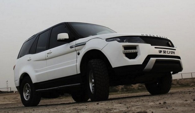 Moon Rover Evoque Front 7/8 View