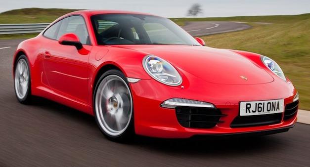 2013 Porsche 911 Red