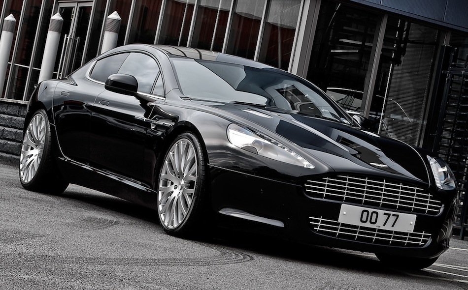 Project Kahn Aston Martin Rapide Front 7/8 View