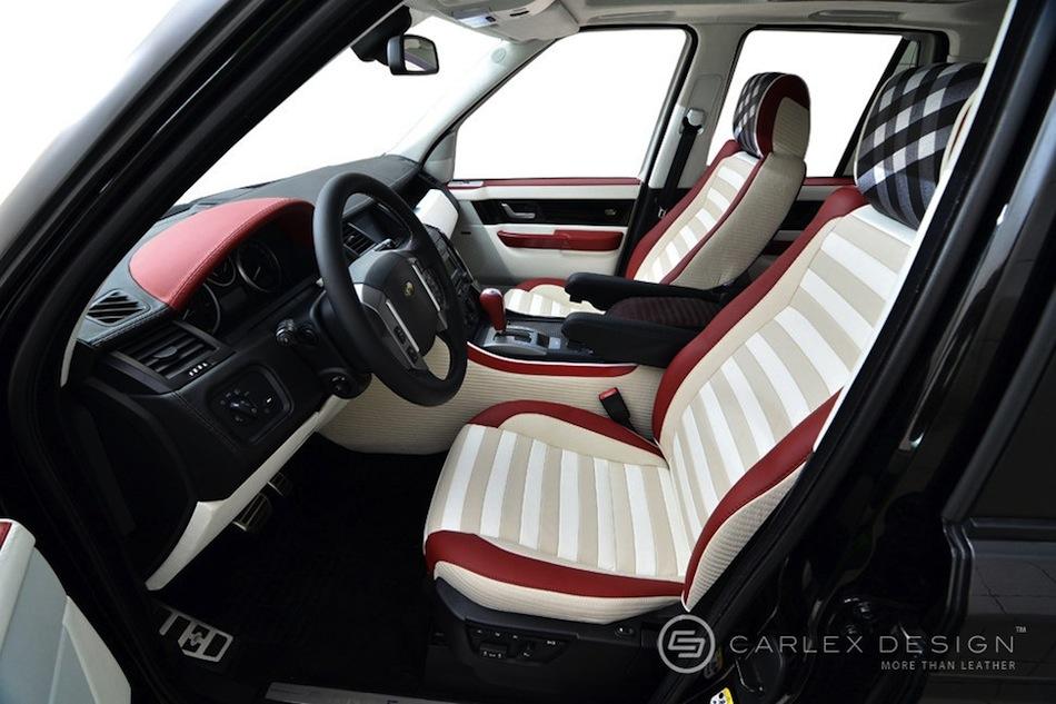 Carlex Design Range Rover Sport Front Seats Interior