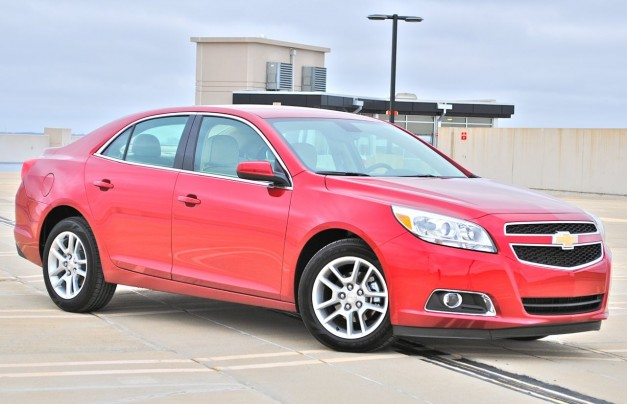 Review: 2013 Chevrolet Malibu Eco Front 7/8 View