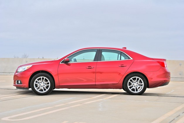 Review: 2013 Chevrolet Malibu Eco Side View