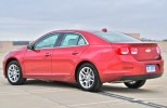 Review: 2013 Chevrolet Malibu Eco Rear 7/8 Angle