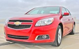 Review: 2013 Chevrolet Malibu Eco Front Angle Shot