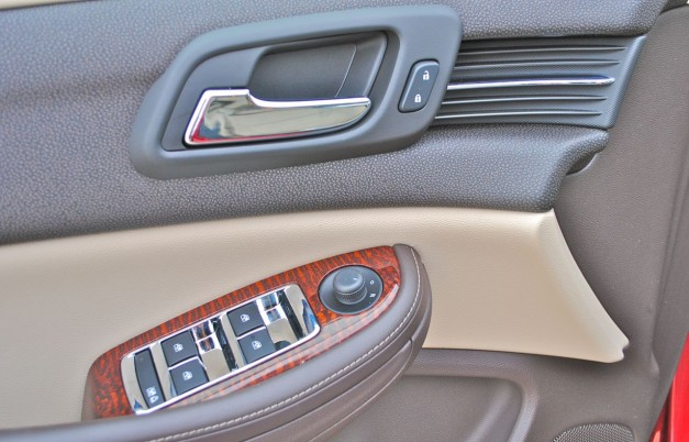Review: 2013 Chevrolet Malibu Eco Door Panel
