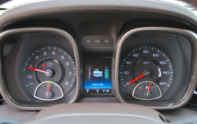 Review: 2013 Chevrolet Malibu Eco Speedometer