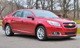 Review: 2013 Chevrolet Malibu Eco Front 7/8 Action View