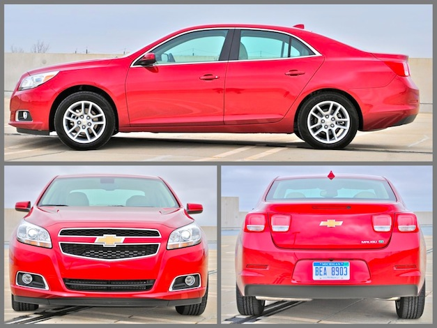 Review 2013 Chevrolet Malibu Eco Exterior