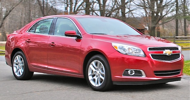 Review 2013 Chevrolet Malibu Eco Overall
