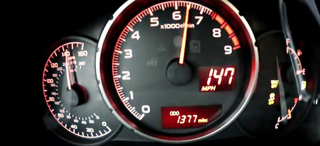 Video: 2013 Subaru BRZ hits top speed of 147 mph on the Autobahn