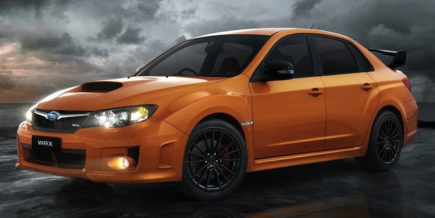Subaru Impreza WRX Club Spec Edition