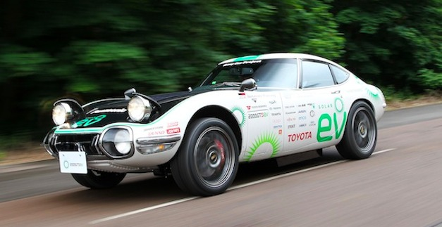 toyota2000gtev Report: Toyota planning manual electric sports car to compete with Tesla
