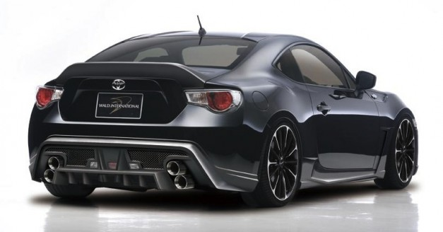 Wald international shows off the toyota 86 sports line for Toyota 86 exterior mods