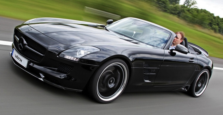 Vath Mercedes-Benz SLS AMG Roadster Front 7/8 Action View