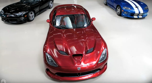 viperjayleno Video: 2013 SRT Viper heads over to Jay Leno's Garage