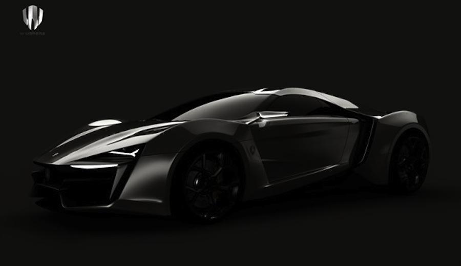W Motors Hyper-Sport Teaser Shot