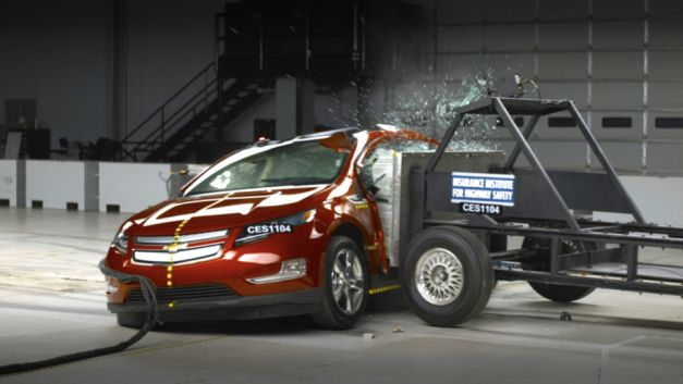 2012 Chevrolet Volt Crash Test
