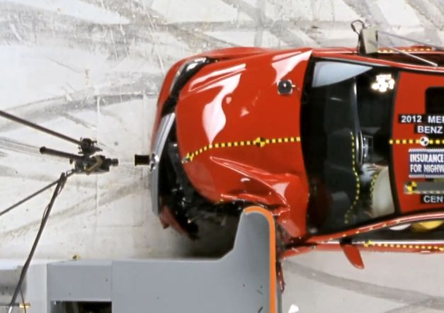 2012 IIHS Small Overlap Frontal Crash Test Video: Insurance Institute for Highway Safety introduces new offset frontal crash test, hopes to make cars safer