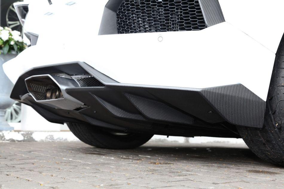 2012 Lamborghini Aventador w Capristo Exhaust Rear Pipe - egmCarTech