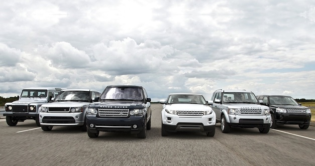 2012 Land Rover Lineup