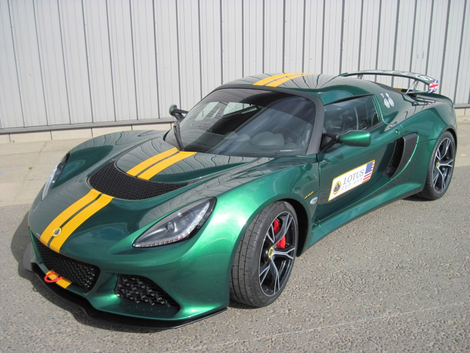 2012 Lotus Exige V6 Cup Front 3-4 Left High Profile
