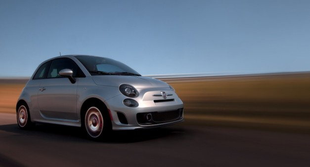 2013 Fiat 500 Turbo Front Quarter Angle