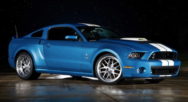 2013fordshelbycobra 01 627x340 2013 Ford Shelby GT500 Cobra pays tribute to Carroll Shelby