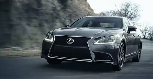 Video: 2013 Lexus LS in action and debut video