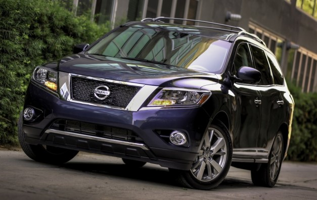 2013nissanpathfinder 01 627x397 2013 Nissan Pathfinder production version unveiled