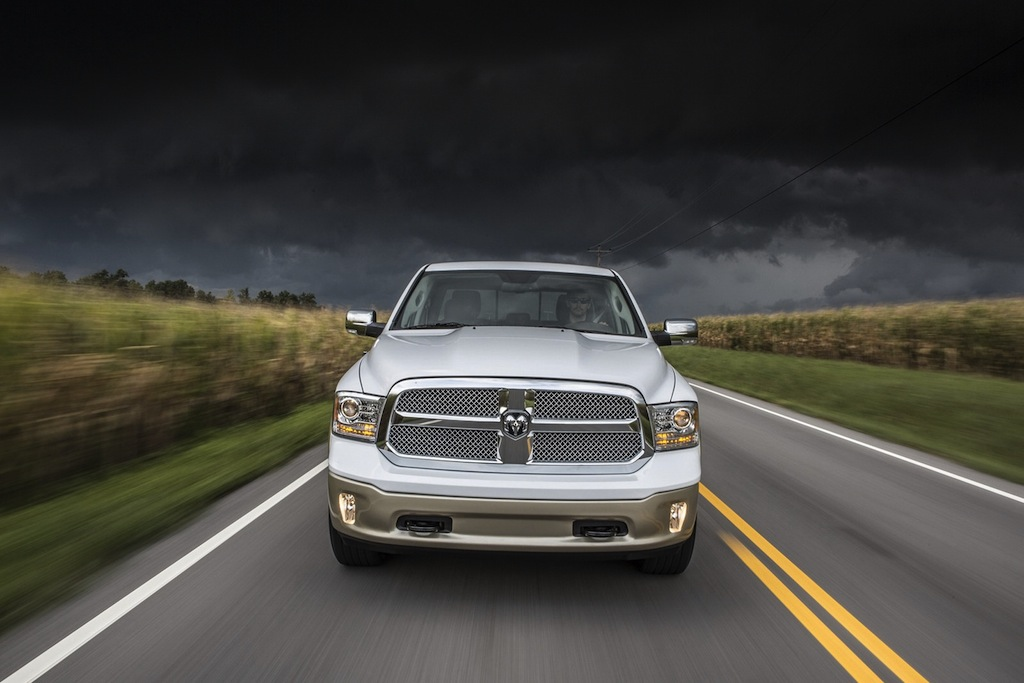 2013 Ram 1500 Front Action View
