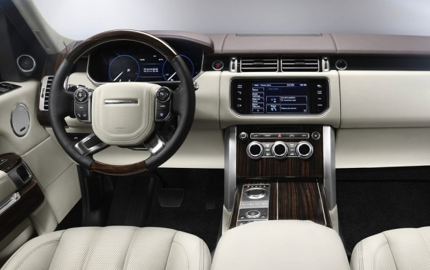 2013 range rover rear interior egmcartech. Black Bedroom Furniture Sets. Home Design Ideas