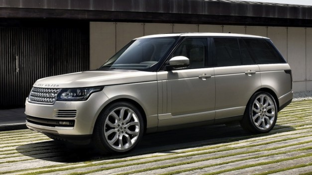 2013 Range Rover officially unveiled, loses a lot of weight