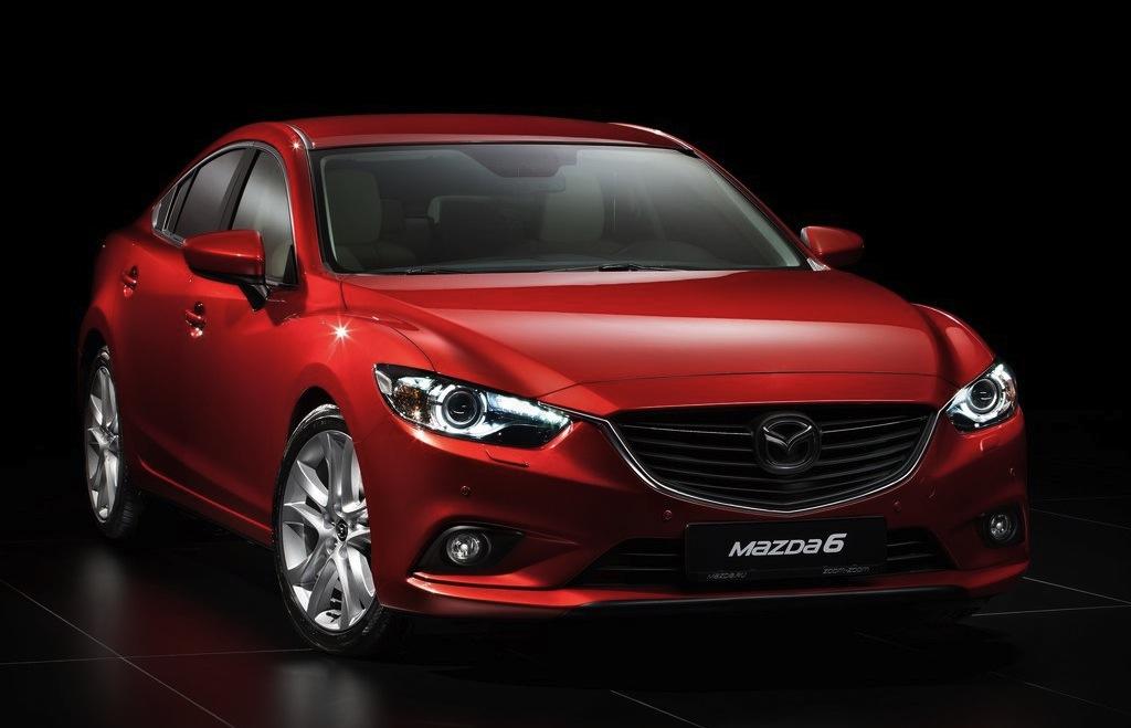 2014 Mazda6 Front 3/4 Studio View - egmCarTech